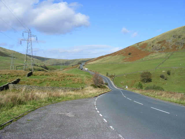 A6 looking north