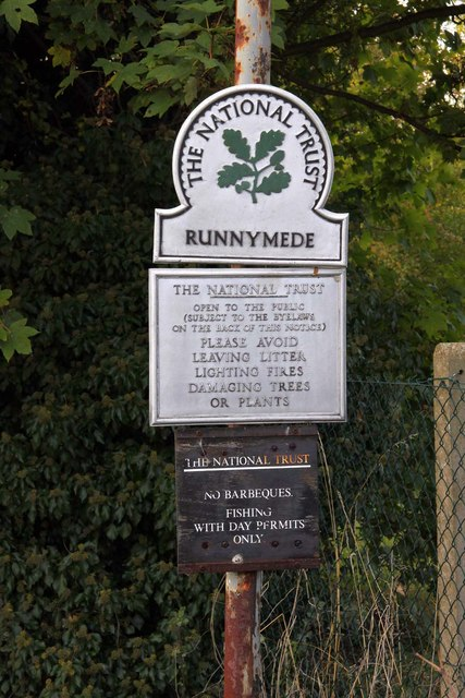 The National Trust in Runnymede
