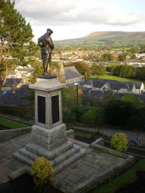 War Memorial, Clitheroe Castle