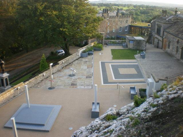Activity area, Clitheroe Castle