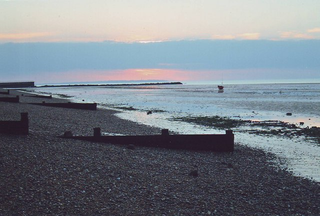 The beach at Herne Bay, Kent.