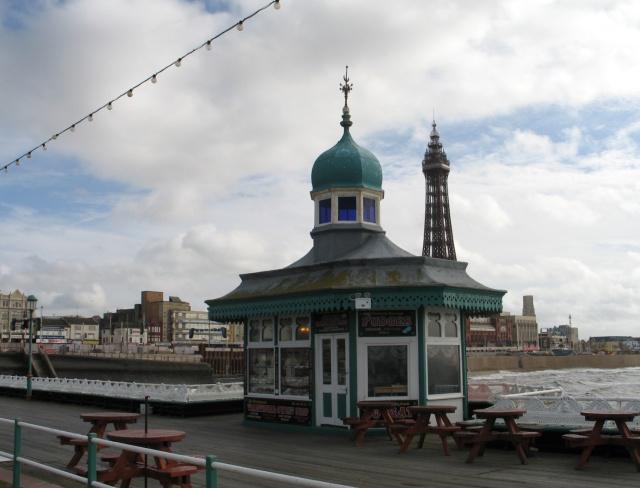 Kiosk, Blackpool North Pier
