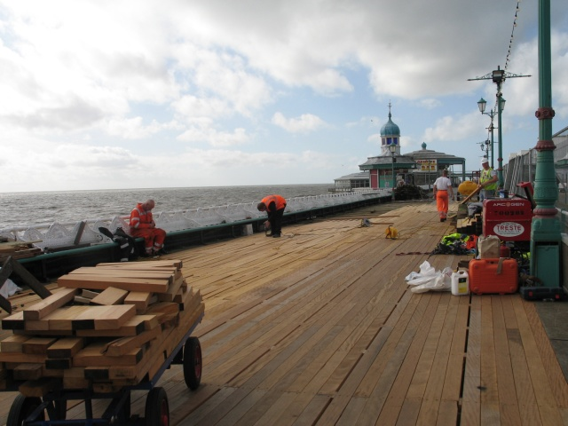 Re-decking Blackpool North Pier