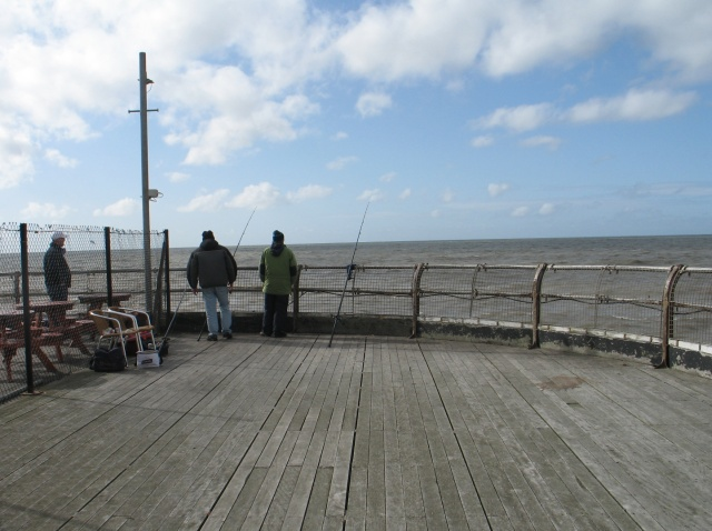Fishing, Blackpool North Pier