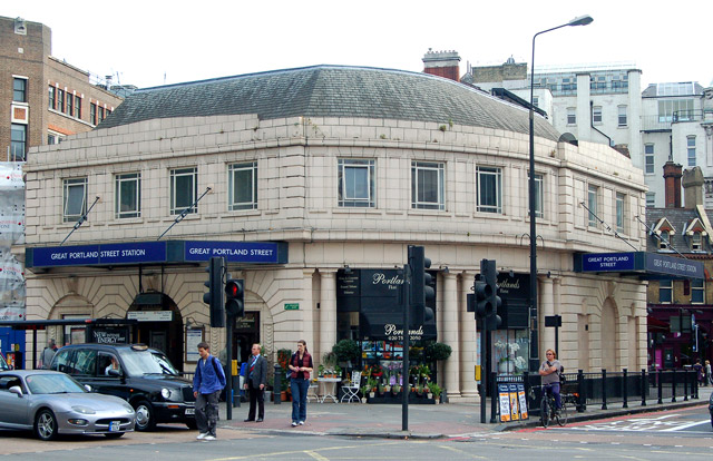 Great Portland Street underground station