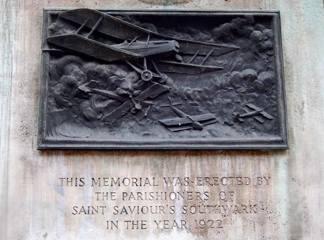 War memorial plaque, Borough High Street, south London