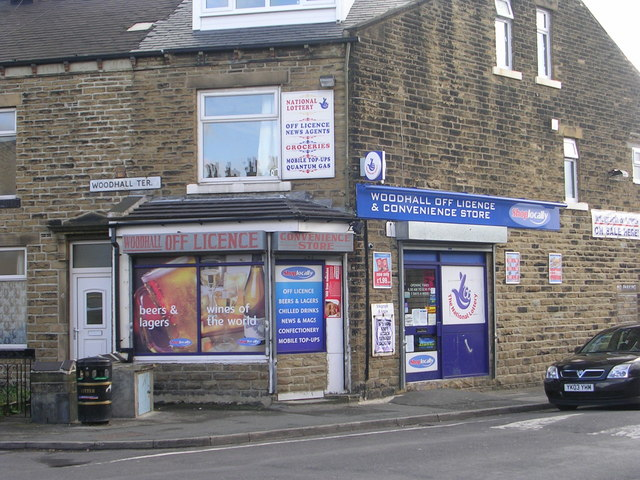 Woodhall Off Licence - Woodhall Avenue