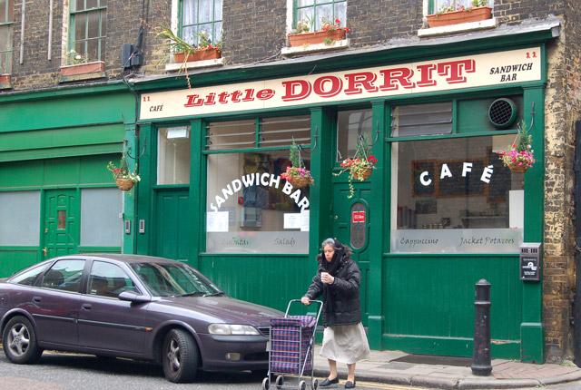 Cafe on Park Street, Borough, south London