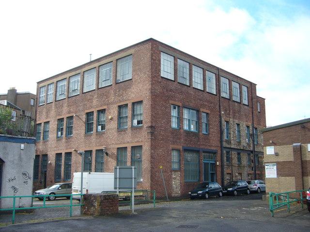 J Cotton &  Co. factory premises, Sunnyside