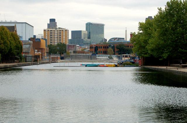 City Road Basin, Regents Canal, Islington