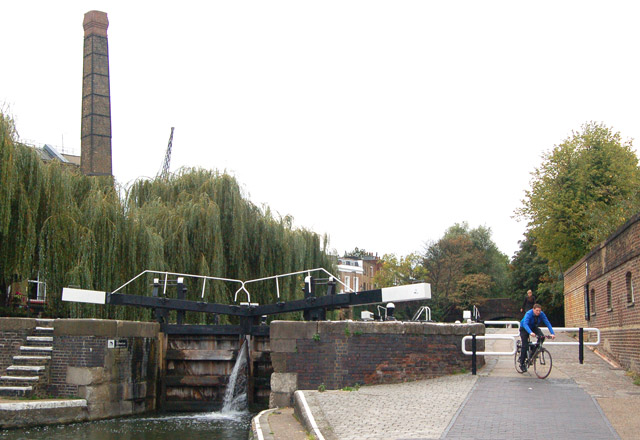 City Road lock, Regents Canal, Islington