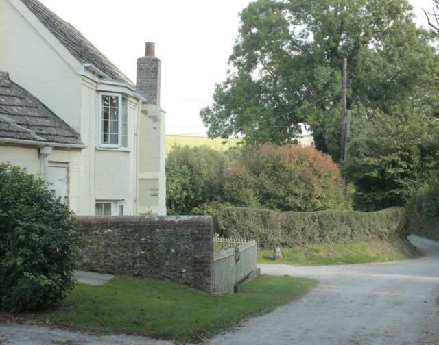 2009 : House and lane near Woodcombe Farm