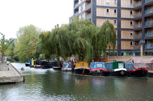 Wenlock Basin, Regents Canal, Islington
