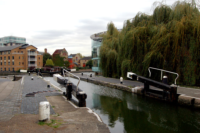 Above City Road lock, regents Canal, Islington