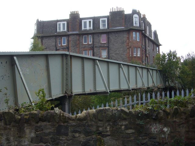 Crawford Bridge from Albion Terrace