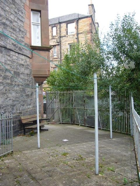 Bothwell Street drying area