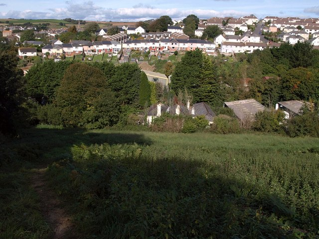 Washbrook valley, Kingsbridge