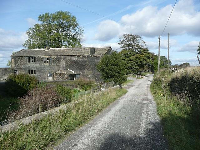Disused cottages at Erringden Grange, Kilnshaw Lane, Erringden