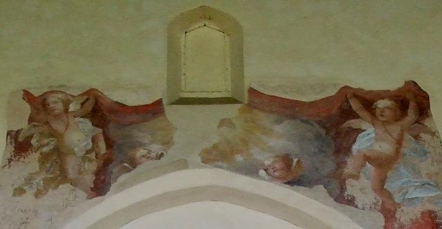 Frescos, St. Mary's, Canon's Ashby