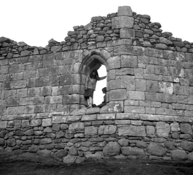 Loch Doon Castle - detail