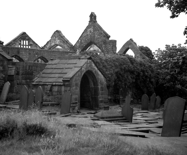 The porch of Heptonstall Old Church