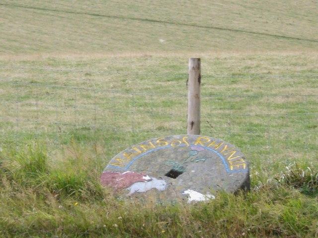 Mains of Rhynie millstone
