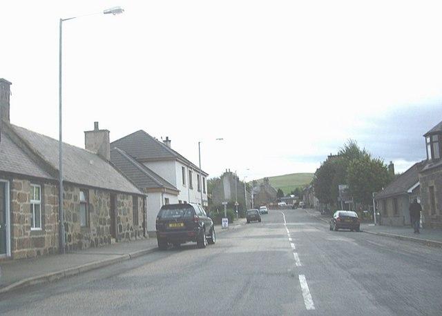 Crossroads in Rhynie