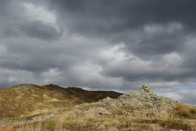 Cairn SW of Craiglee