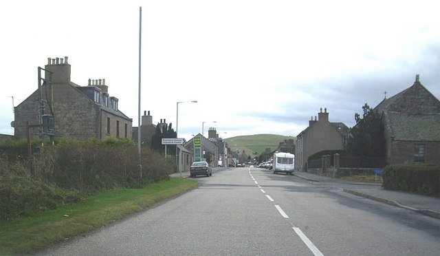 Entry into Lumsden from the north