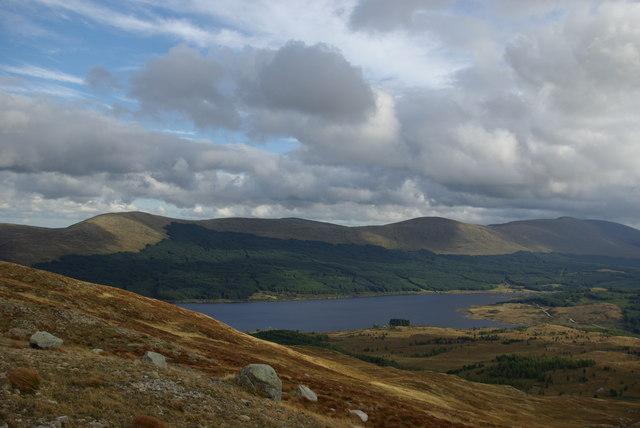 Loch Doon viewed from Craiglee