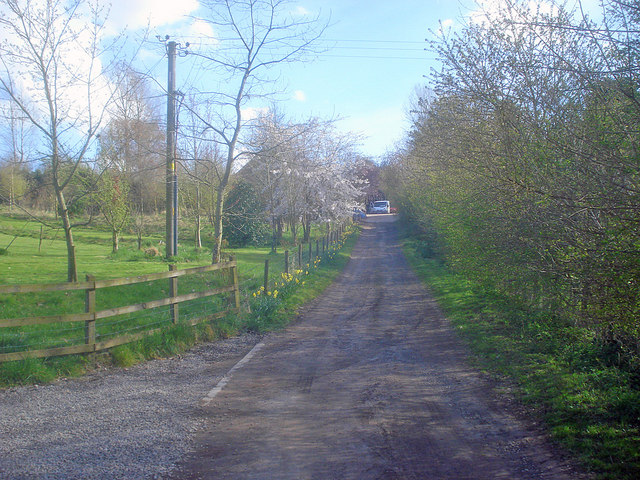 Track to Great Marston