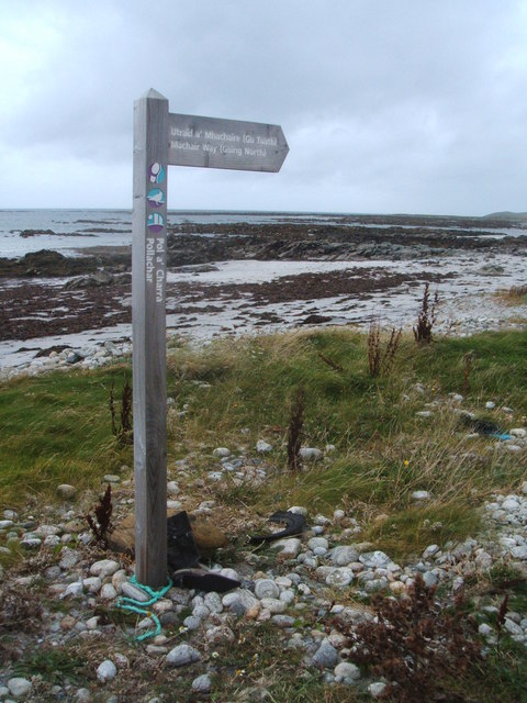 Machair Way signpost
