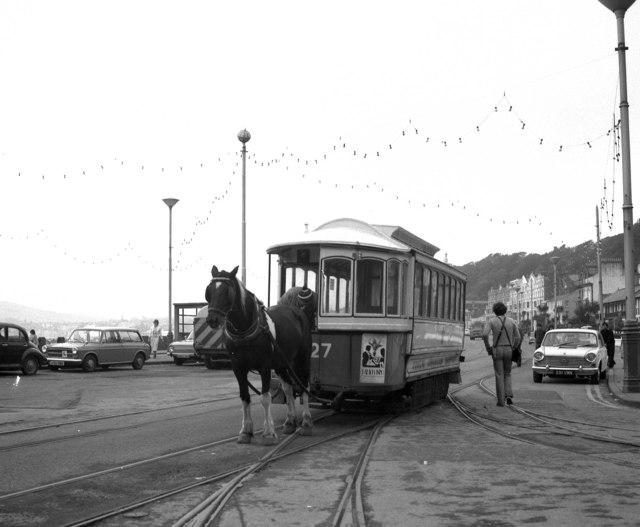 Derby Castle horse tram terminus
