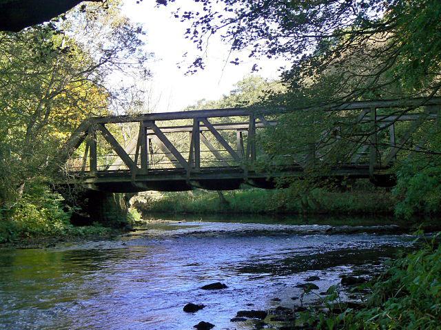 Leawood railway bridge