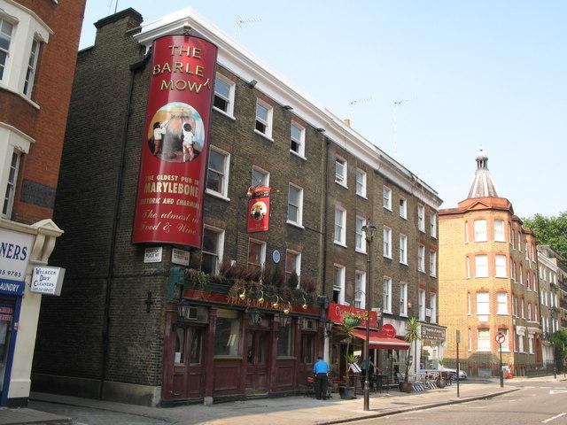 The (former) Barley Mow, Dorset Street, W1