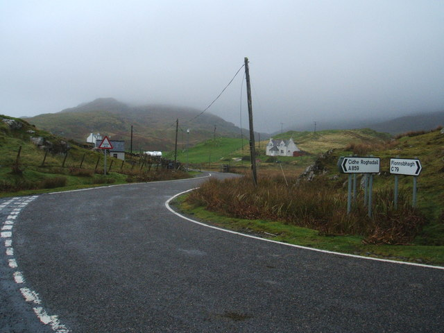 A road and C road