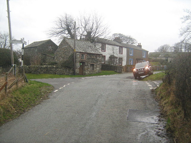 Crossroads at Walmgate Foot