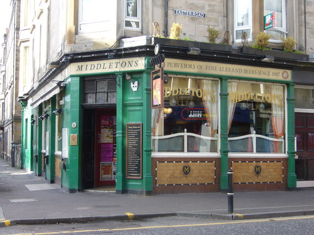 Middleton's pub, Easter Road