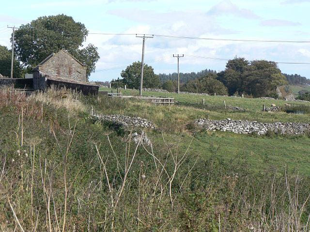 Barn and walls