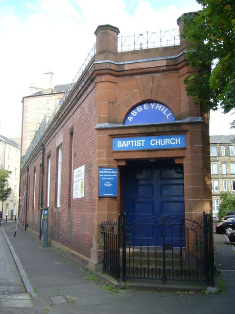 Abbeyhill Baptist Church, Brunswick Road