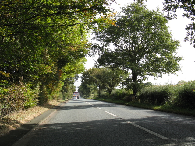 A50 Near Sworton Heath