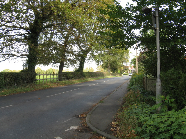 High Legh - West Lane At The Avenue (Northern End)