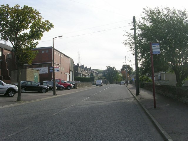 Claremount Road - viewed from Thorpe Street