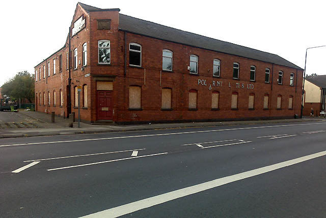 Factory Building on Nottingham Road