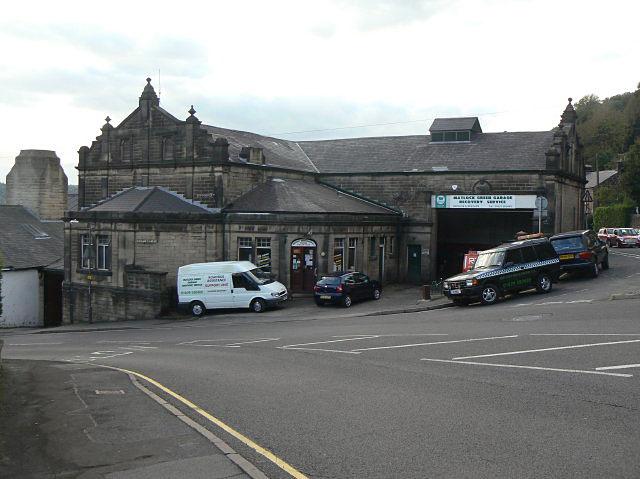 Old tramway depot