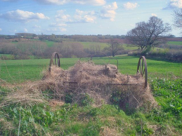 Abandoned hay rake - 2