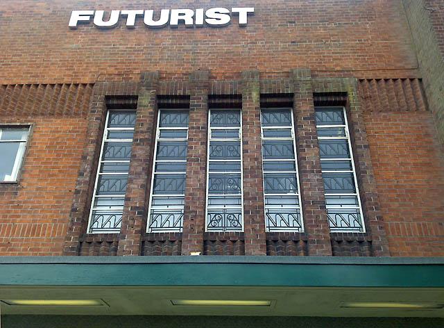 Window Detail - The Futurist