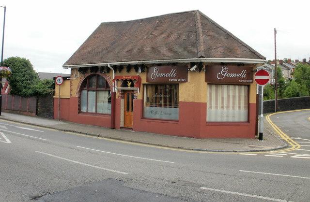 Gemelli restaurant, Bridge Street, Newport