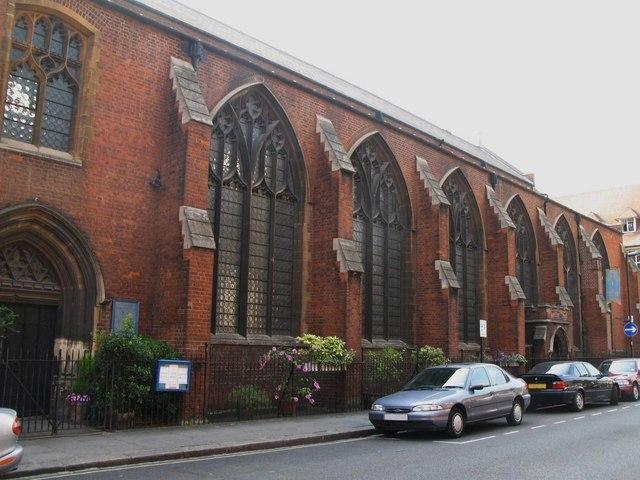 St. Cyprian's Church, Glentworth Street, NW1