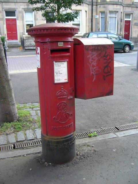 Pillar box, Montgomery Street